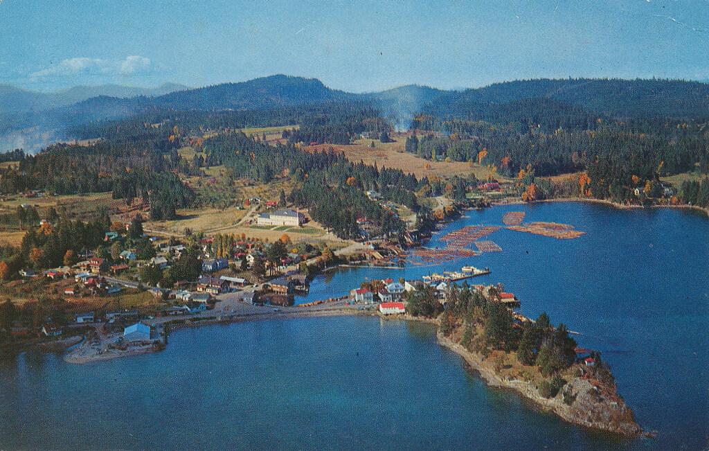 Salt Spring Island Postcard